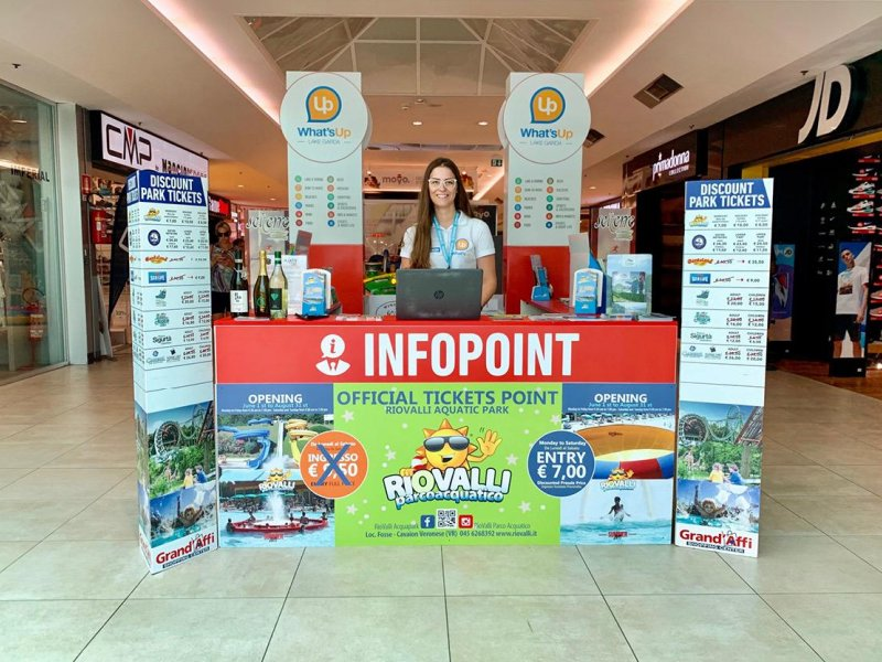 >> VISIBILITY AT OUR INFOPOINT IN GRAND
